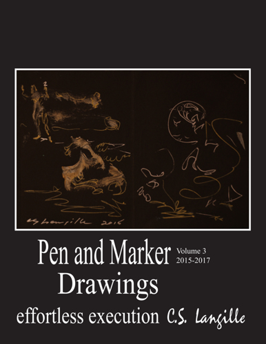 Pen and Marker Drawings Vol 3 by Chris Langille