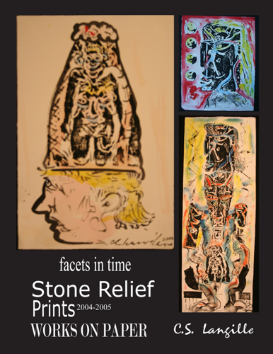 Stone Relief Prints by Chris Langille