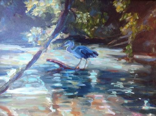 Egret at Charlestown Landing