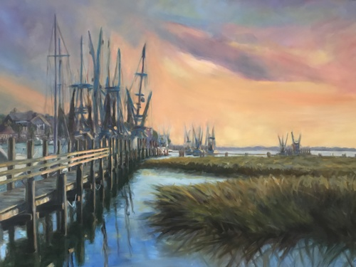 Shrimp Boats on Shem Creek