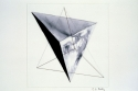 Drawing--Ink-DesignStar Tetrahedron - 003