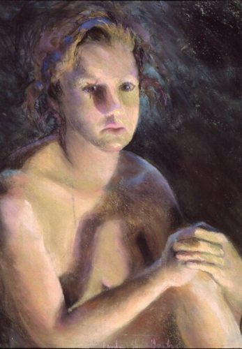 Painting--Pastels-NudePeople Images 03