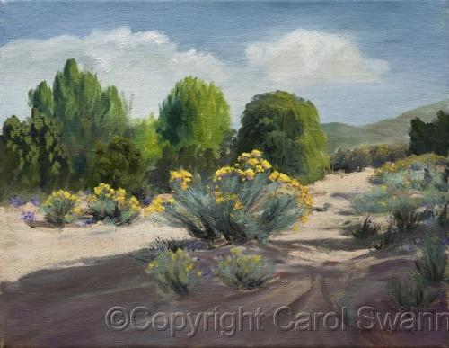 Early Morning Arroyo by Swann Fine Art