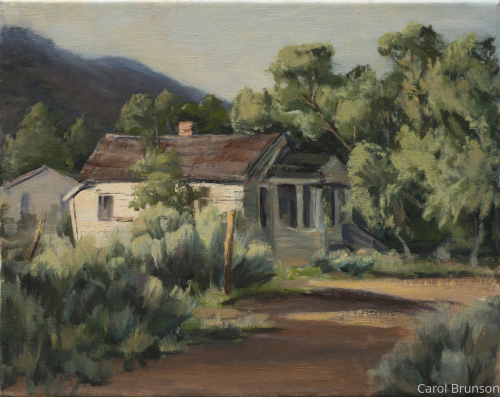 House in Golden NM by Swann Fine Art