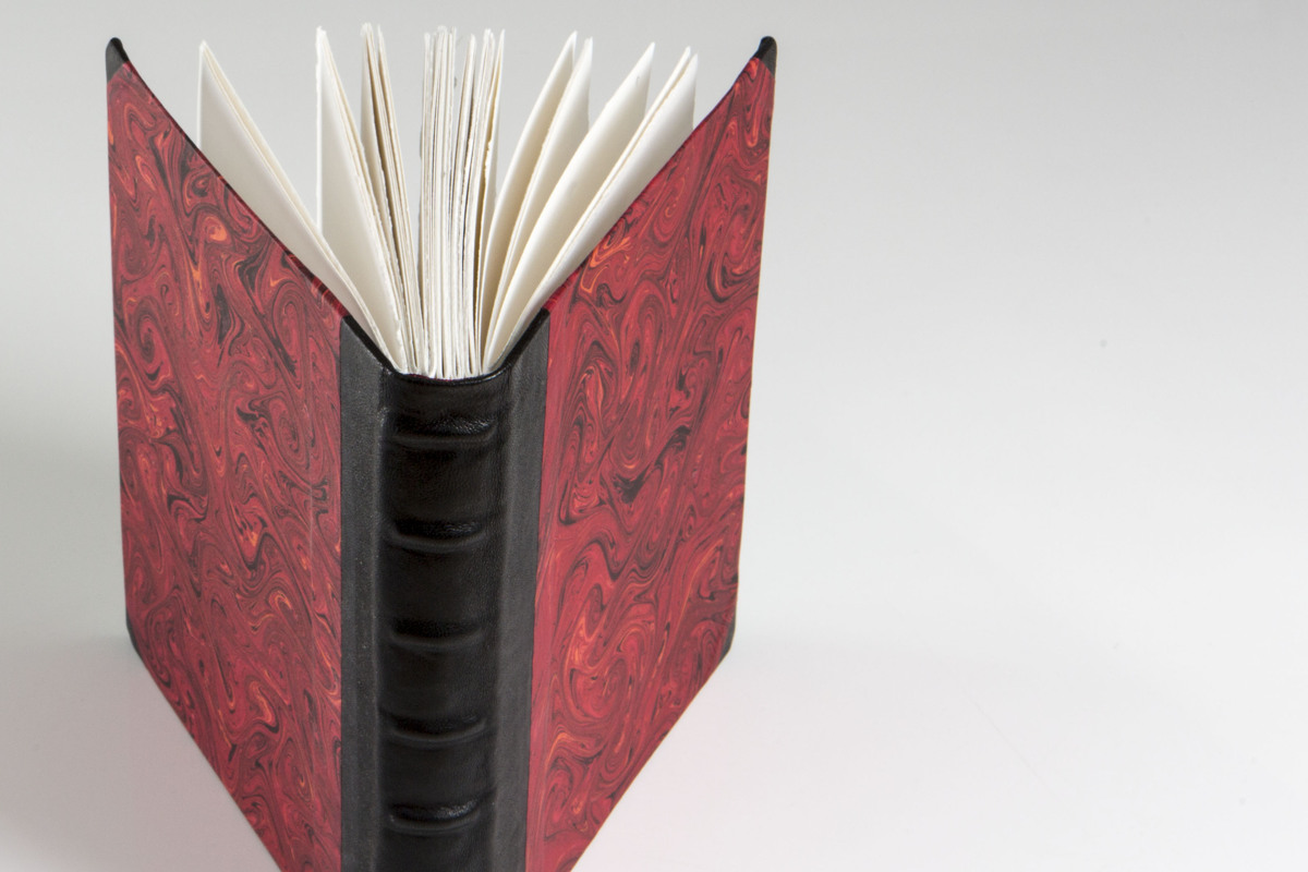 Red Cord in Spine Book (large view)