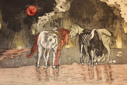 The Four Horses by Cynthia Tidler