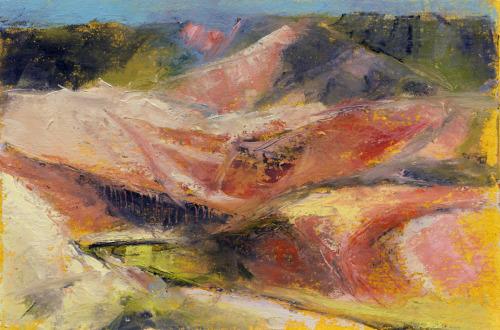 Rio Grande, oil study 2