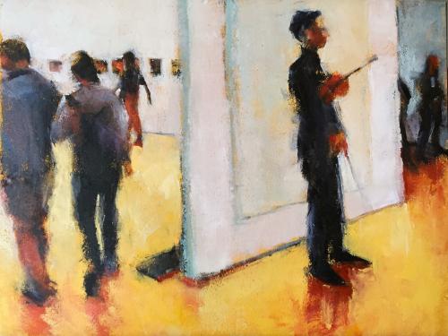 The Violinist, MoMA