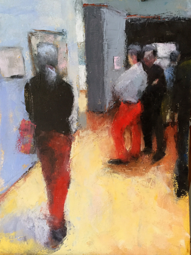 Red Pants, MoMA by Carol Tippit Woolworth