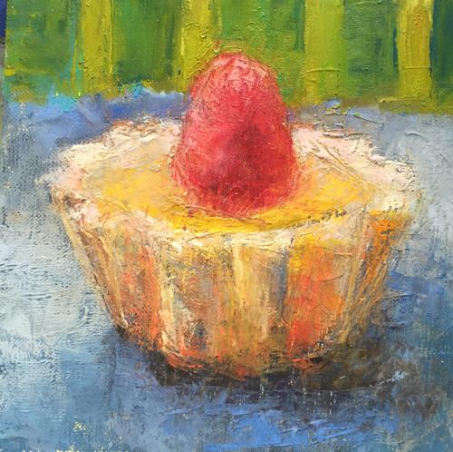 Lemon Tart with Raspberry