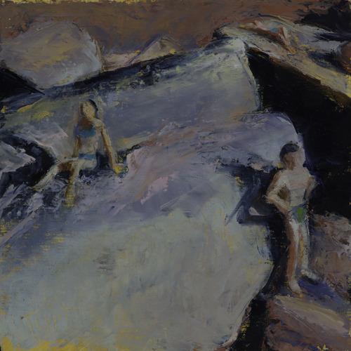 Three Bathers, sketch