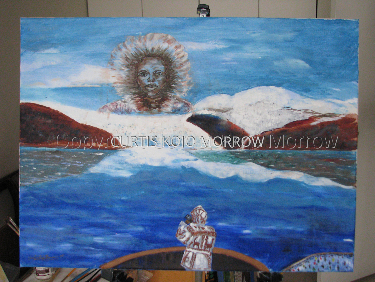 MATTHEW HENSON -The Explorer- (large view)