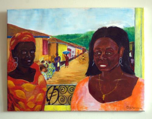View From Verandah        by Curtis  Kojo Morrow