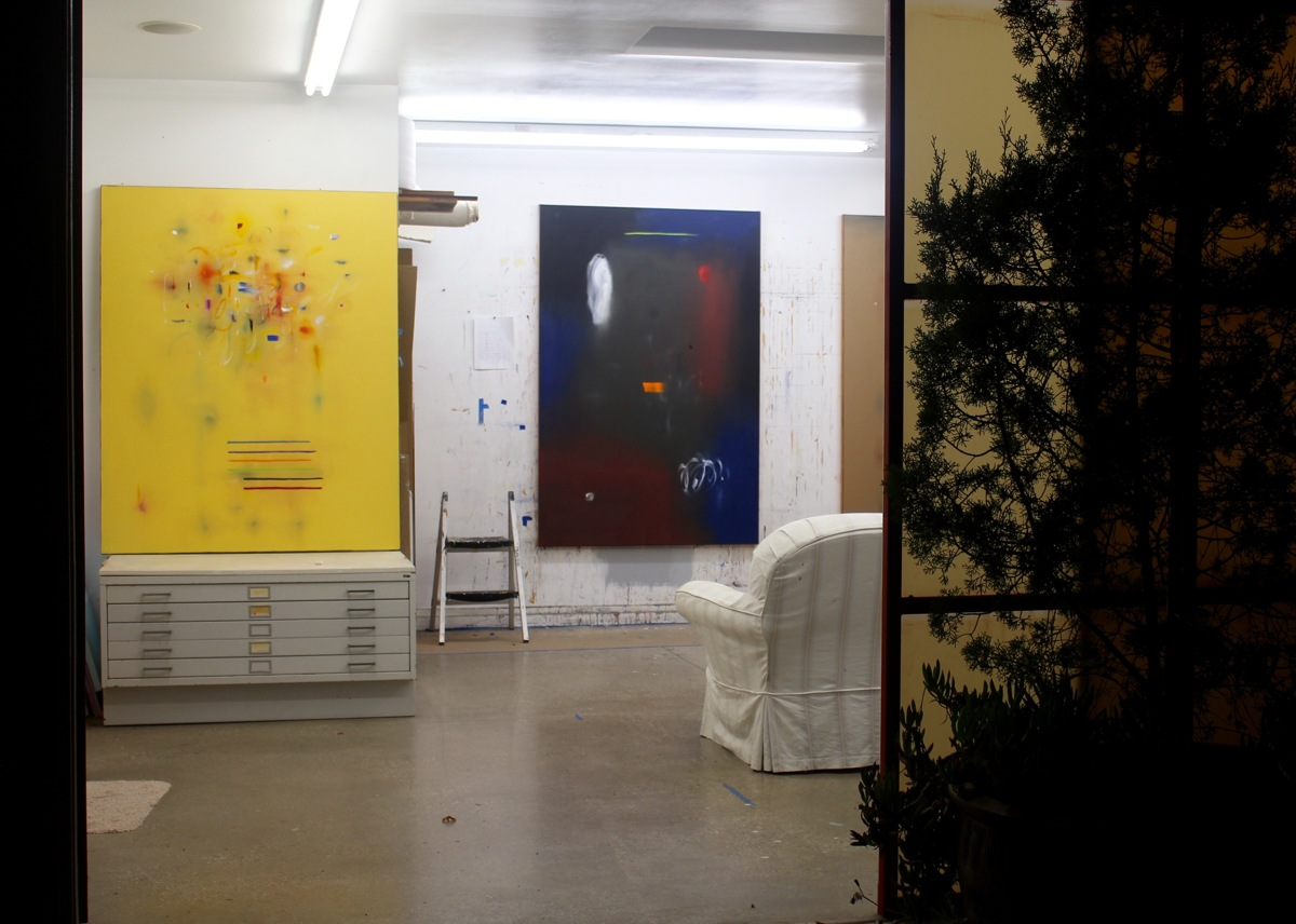 Studio at Night, Los Angeles, 2017 (large view)