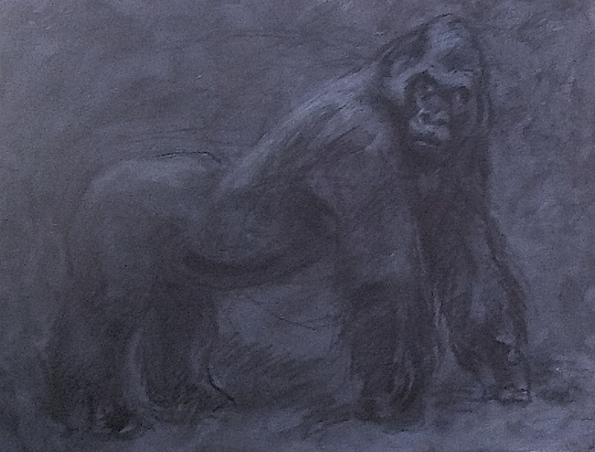 Fossil: Silver Back Gorilla (large view)