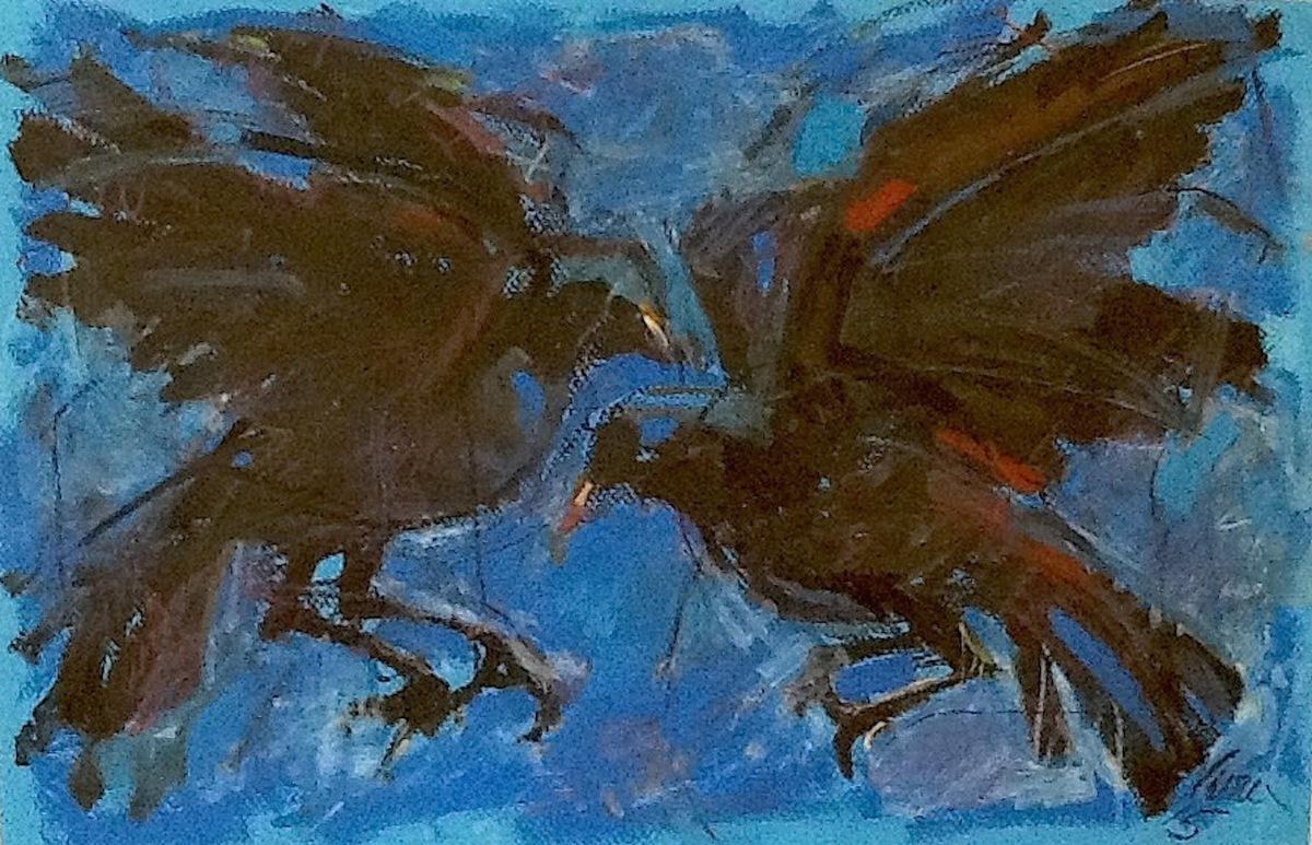 Black Bird Banter (large view)