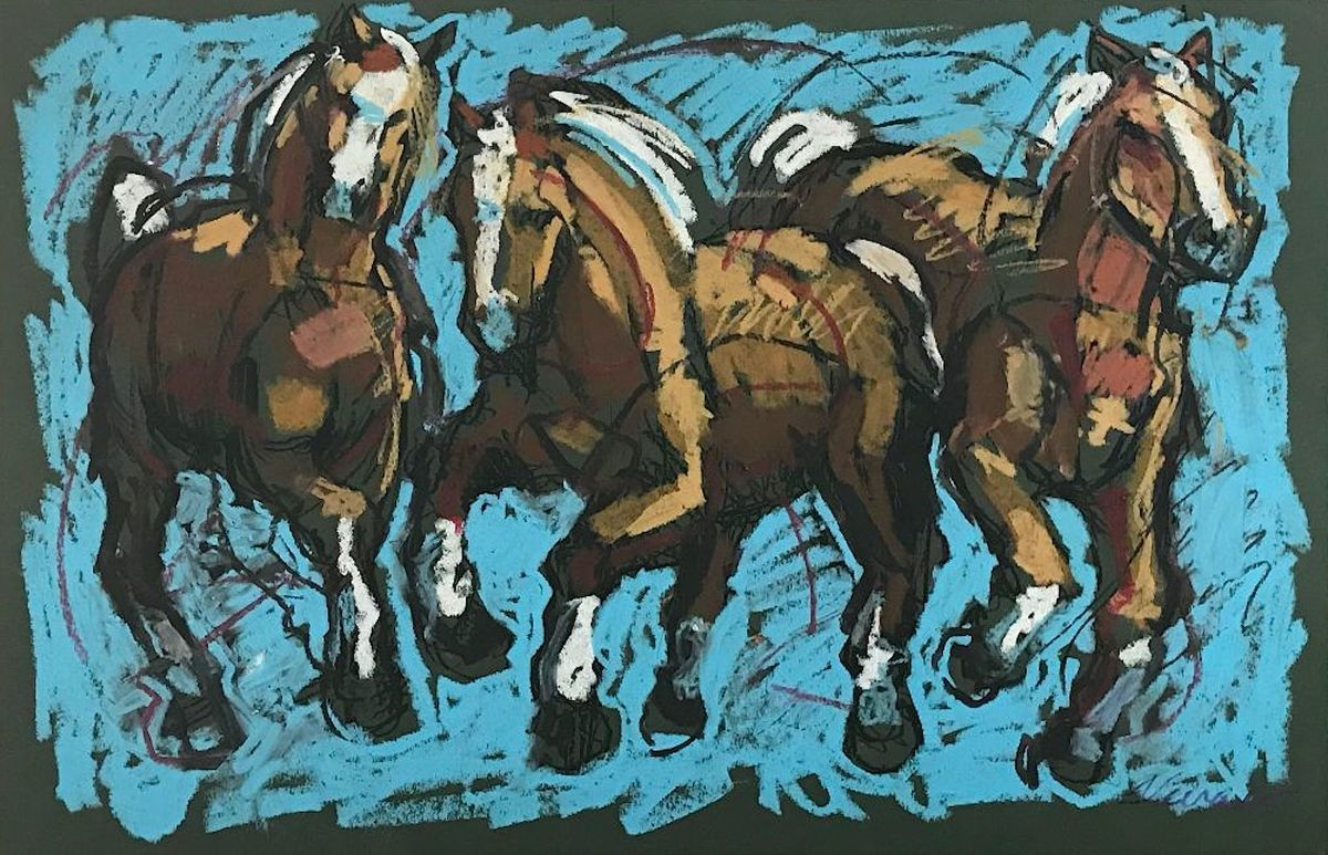 Palomino Stampede Blue (large view)