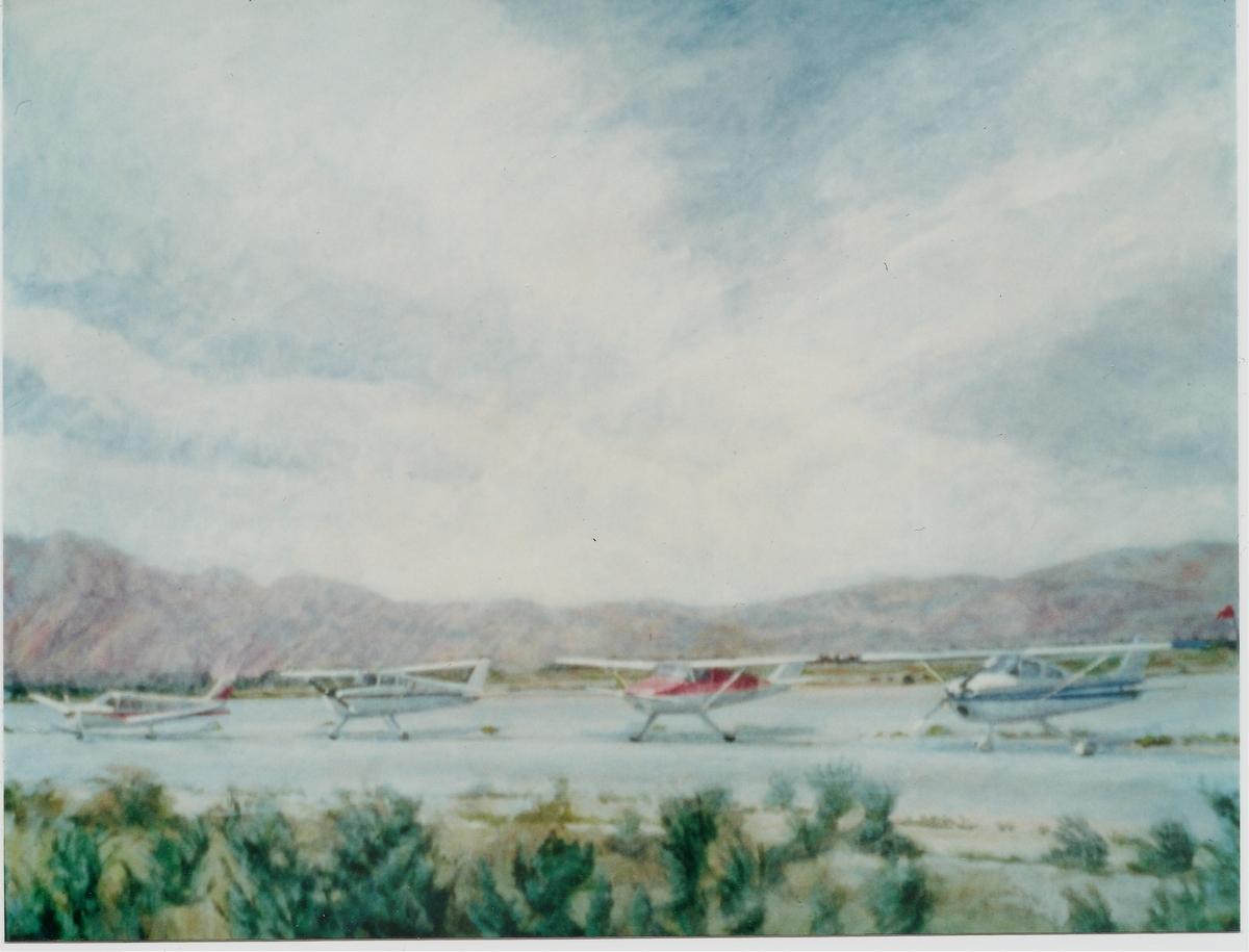 Desert Airport,1988 (large view)
