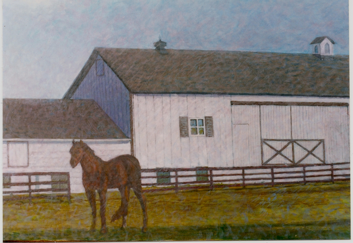 Hunterdon County Horse at Home (large view)