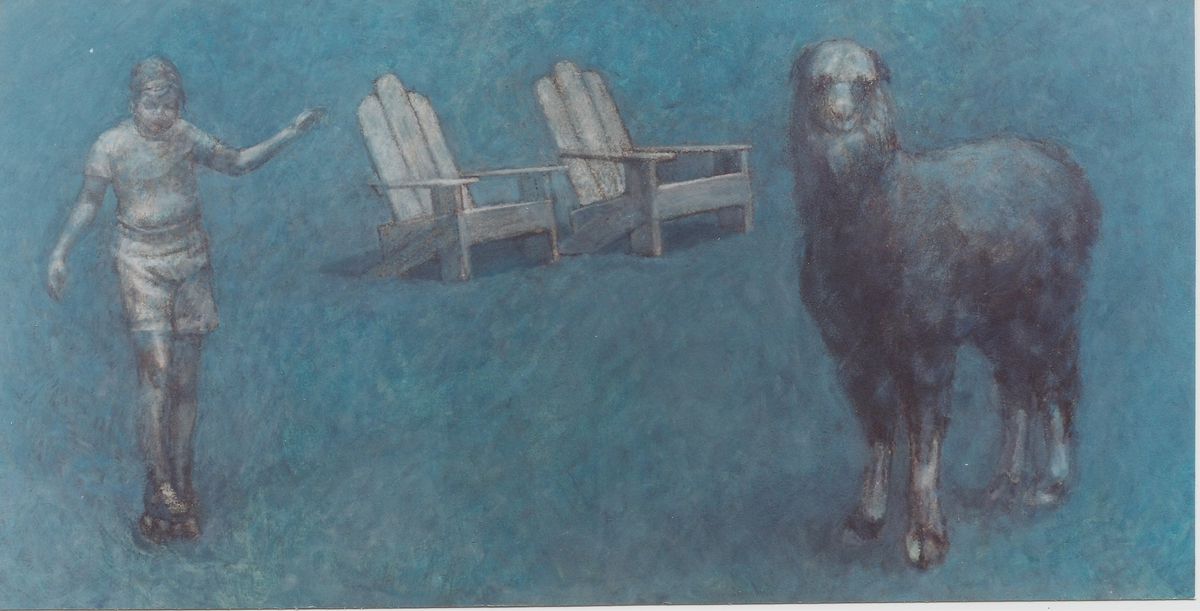 Skater,Chairs,Lama,1986 (large view)