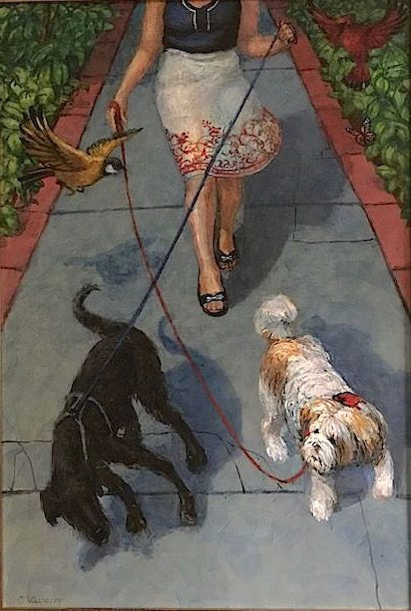 On a Short Leash (large view)