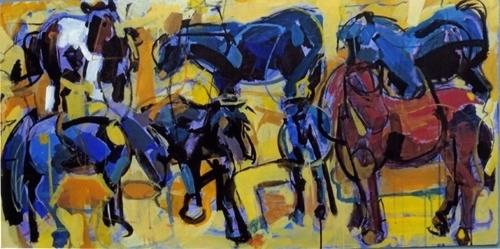 """""""Ponies"""",2008 (large view)"""