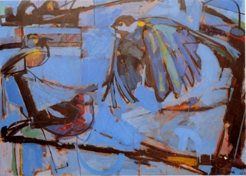"""Birds On A Wire""2008 (large view)"