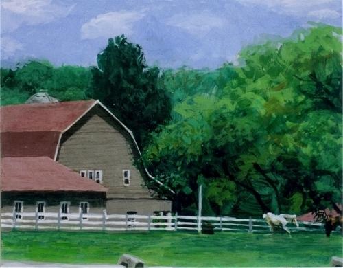 """Hunterdon County #1""2006 (large view)"