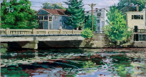 """Halstead St,Bridge"" 2006 (large view)"