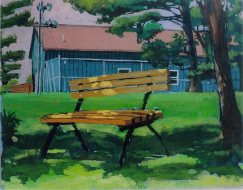 """Copper Hill Bench"" (large view)"