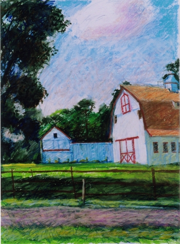 """Farm at Flemington""2000 (large view)"