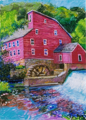 """Mill at Clinton""2000 (large view)"