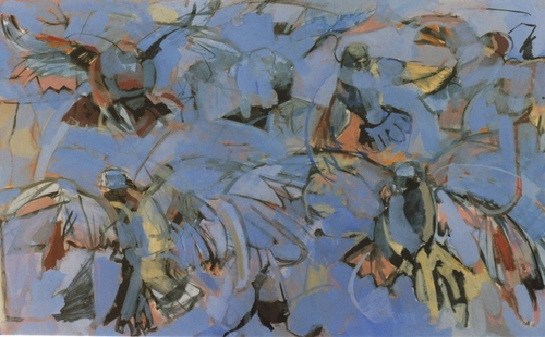 Birds in Flight ,2007 (large view)