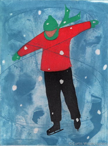 Christmas Skater, 2008 by Curtis Wright Gallery