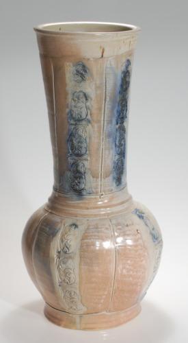 salt fired vase (large view)