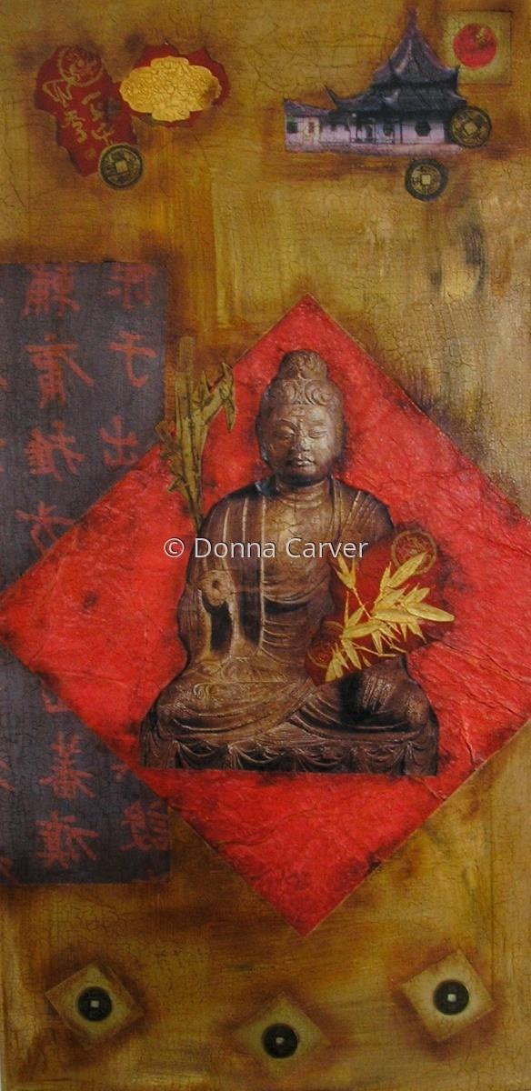 Buddha Meditation   SOLD (large view)