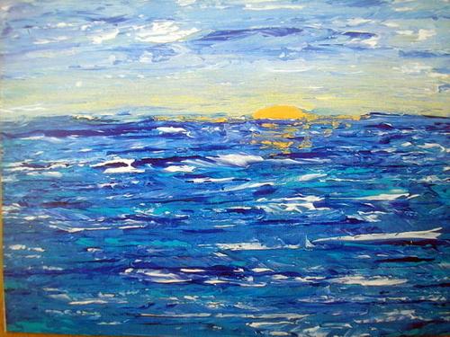 Whitecap Sunset SOLD (large view)