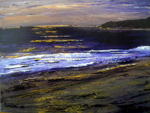 Ventura's Golden Serene Sunset SOLD (large view)