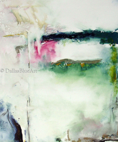 North Texas Rain by Dallas Blue Art