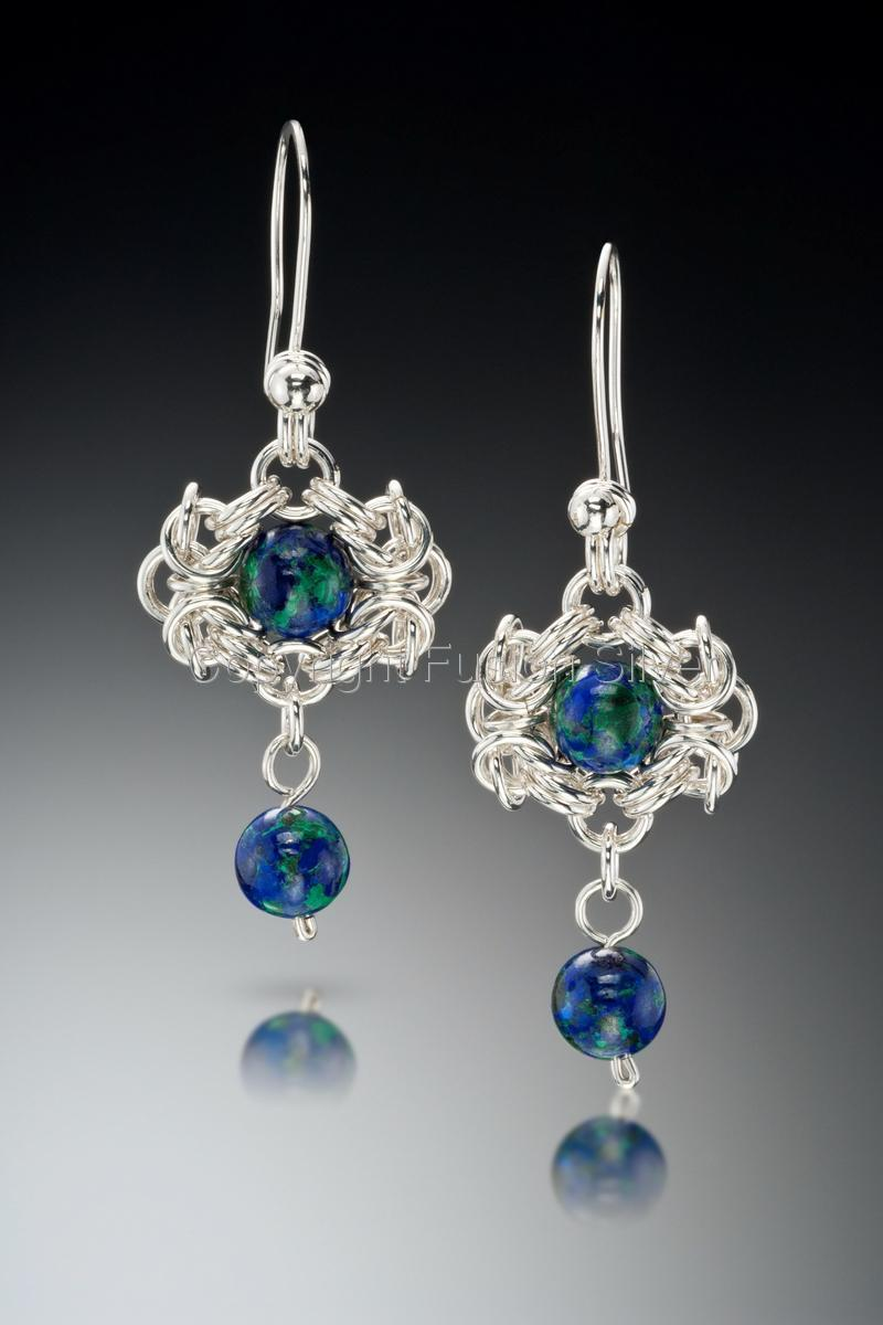 Earth view Earrings (large view)
