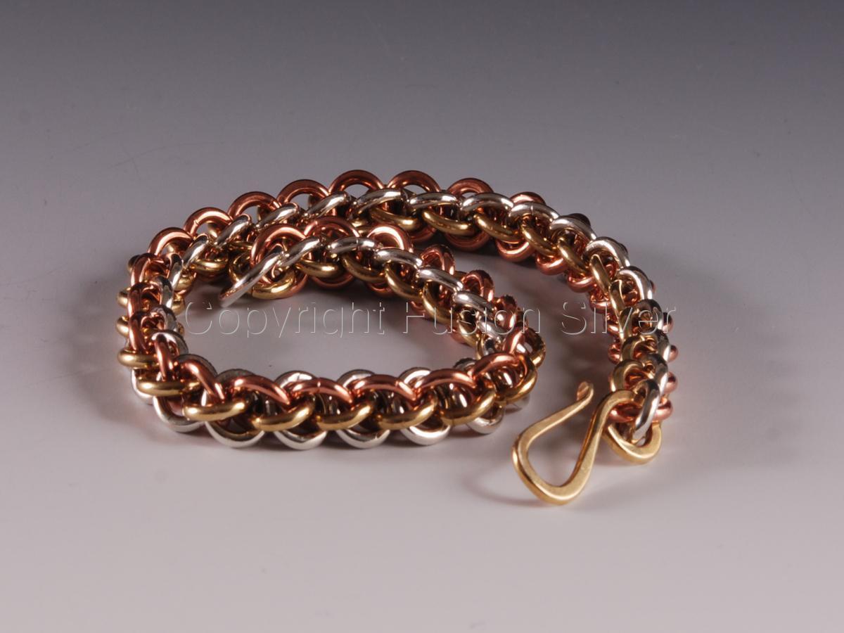 Jens Pind Tri Tone Bracelet (large view)