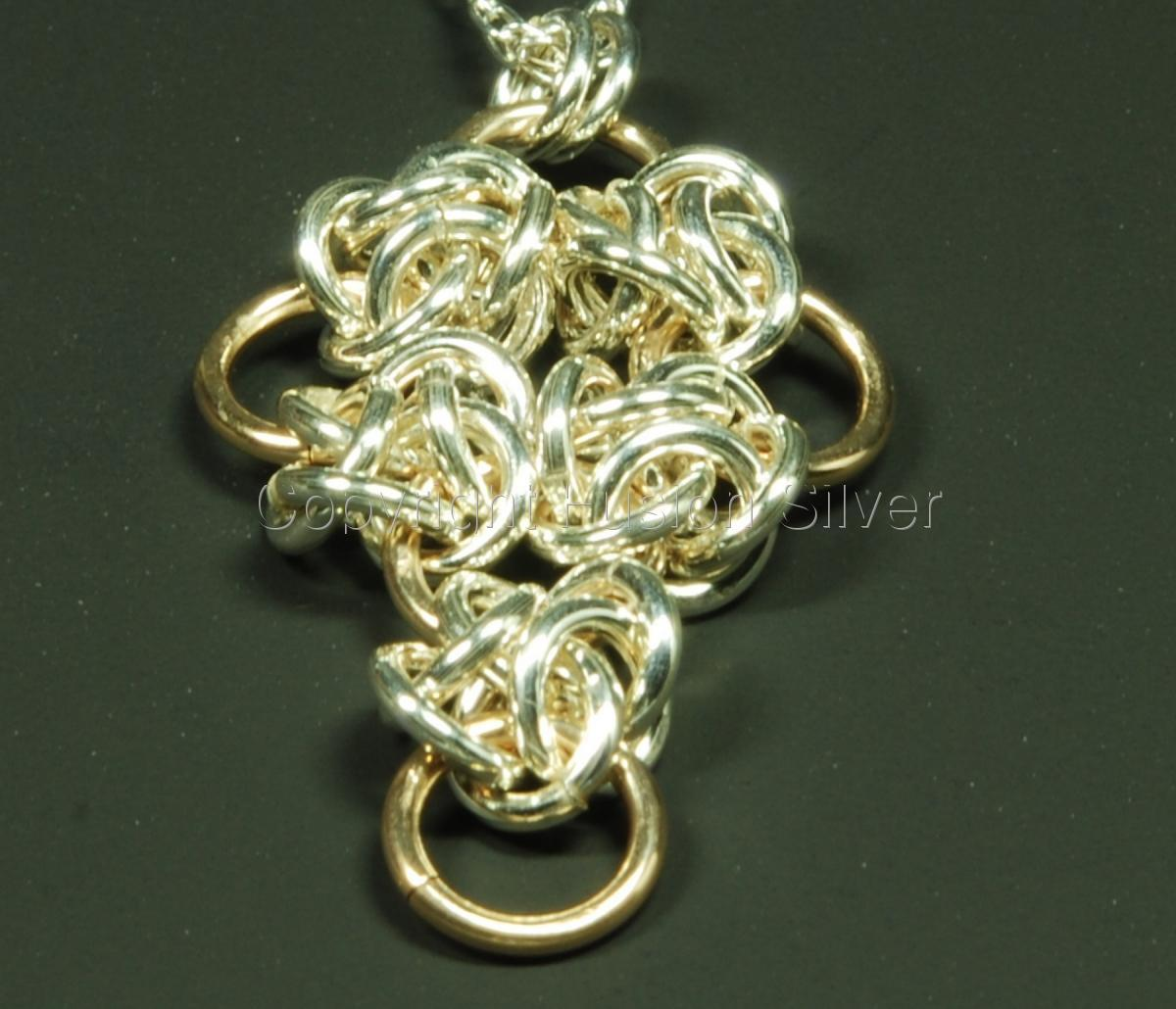 4 winds small cross pendant (large view)