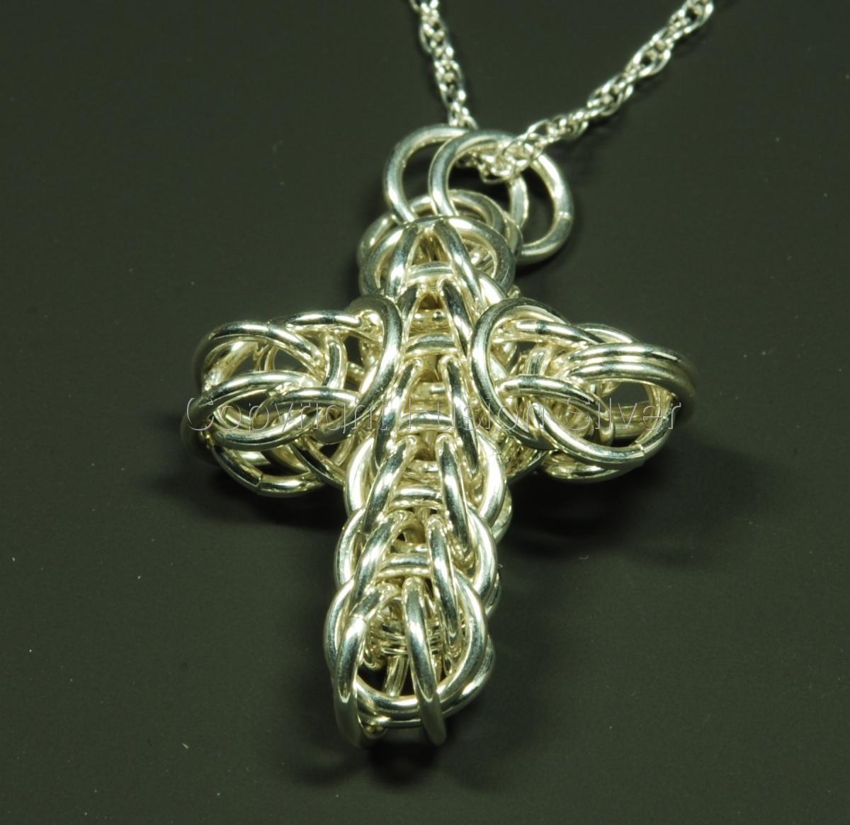 Persian Cross - Silver - medium Large (large view)