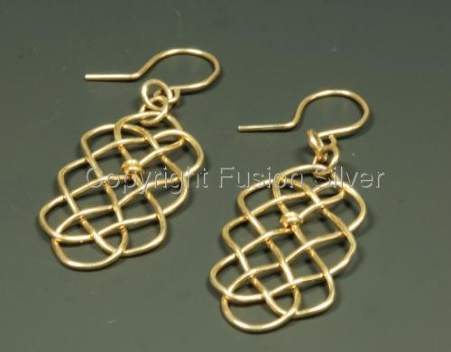 Prolong Earrings - Gold Filled (large view)