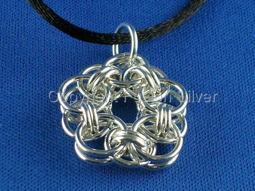 Helm Flower Pendant