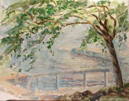 Mulberry Tree with the Greenwood Dock