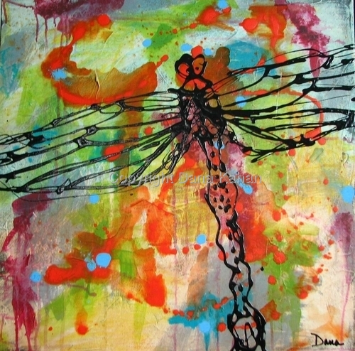 Insect Series: Dragonfly Dark by Dana Kahan
