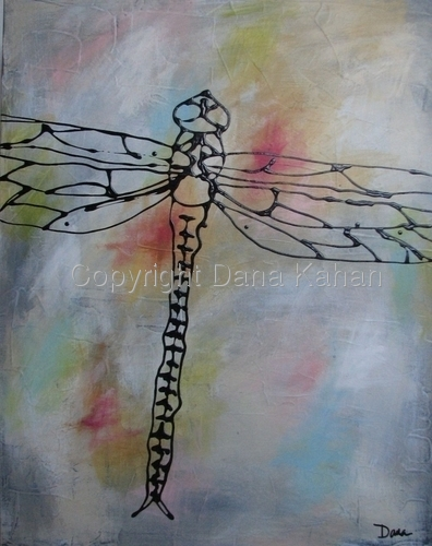 Insect Series: Dragonfly No. 5