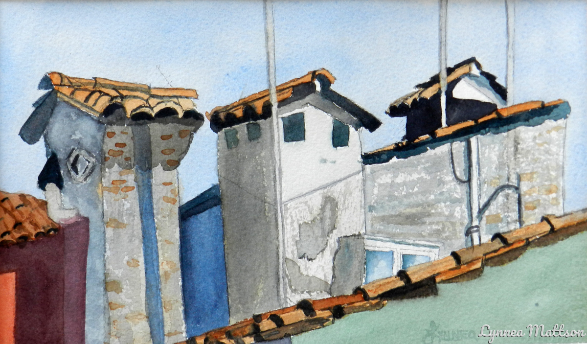Great Roof Tops in Italy (large view)