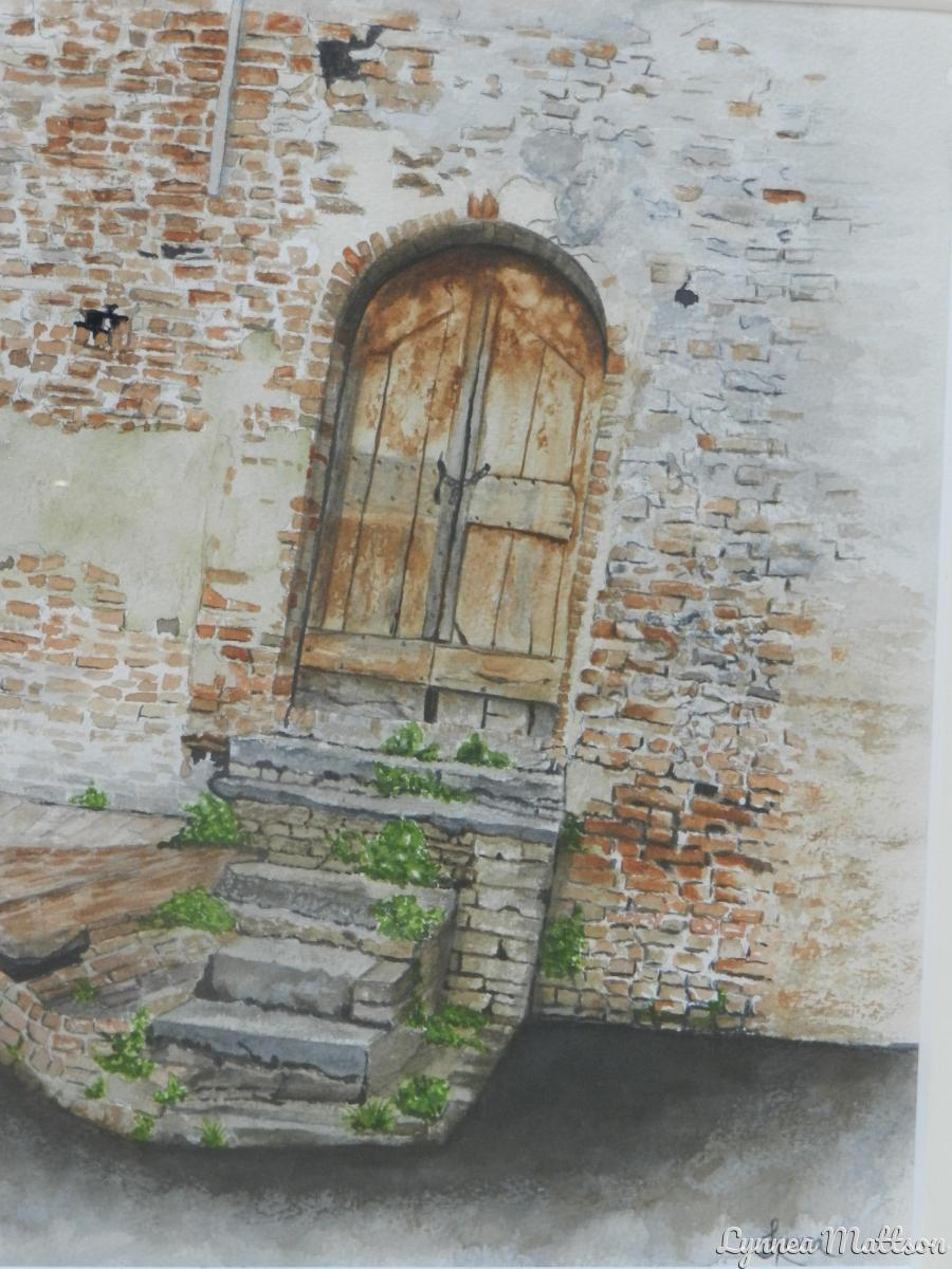 Old Door on the Hill (large view)